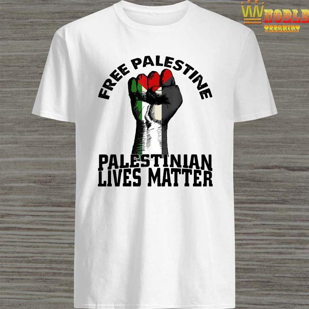 Free Palestine Palestinian Lives Matter Shirt