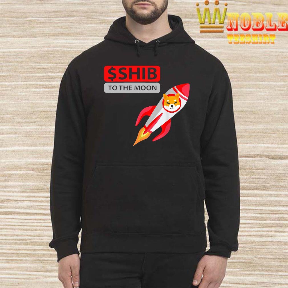 $shib To The Moon Shirt Hoodie