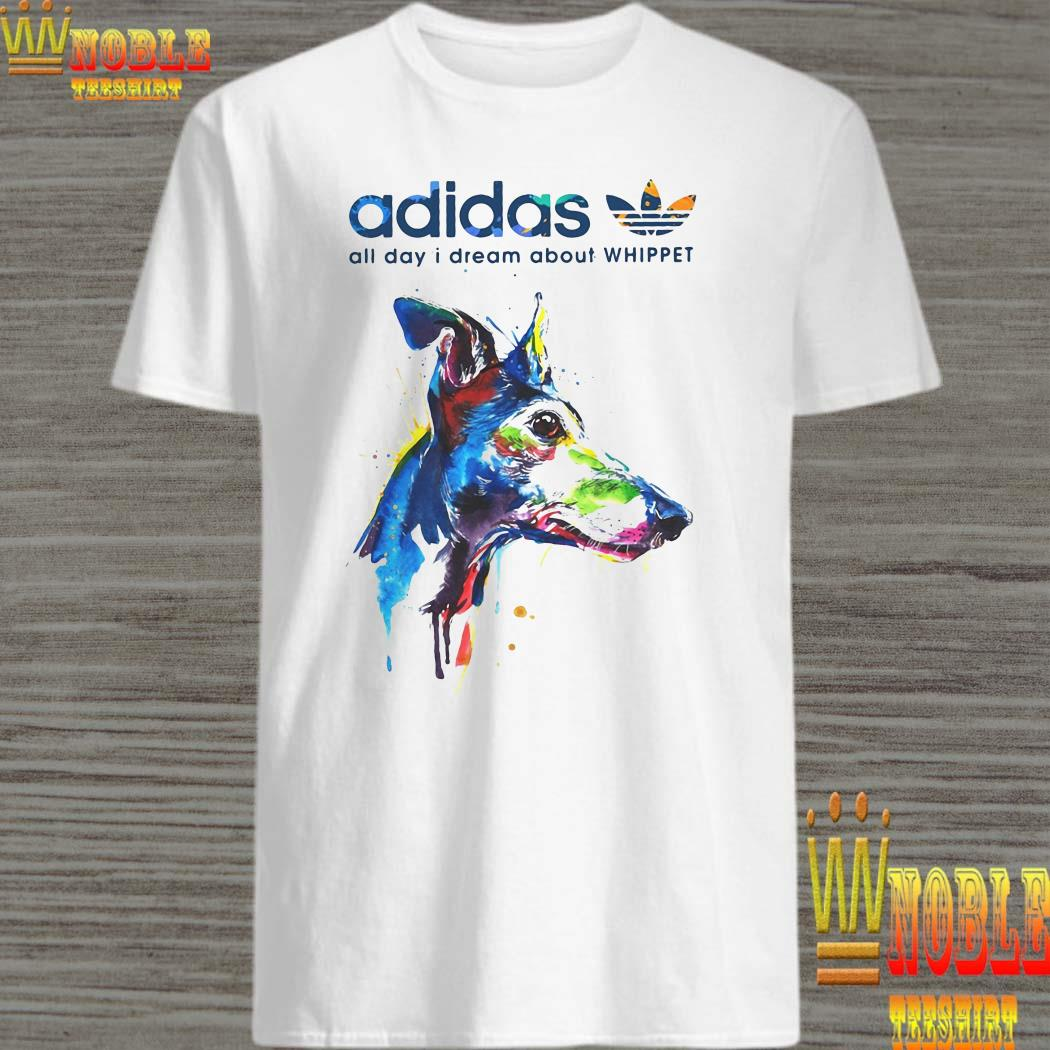 Adidas all day I dream about Whippet shirt