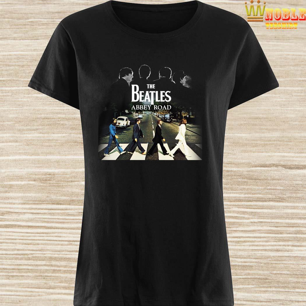 The Beatles abbey road ladies shirt