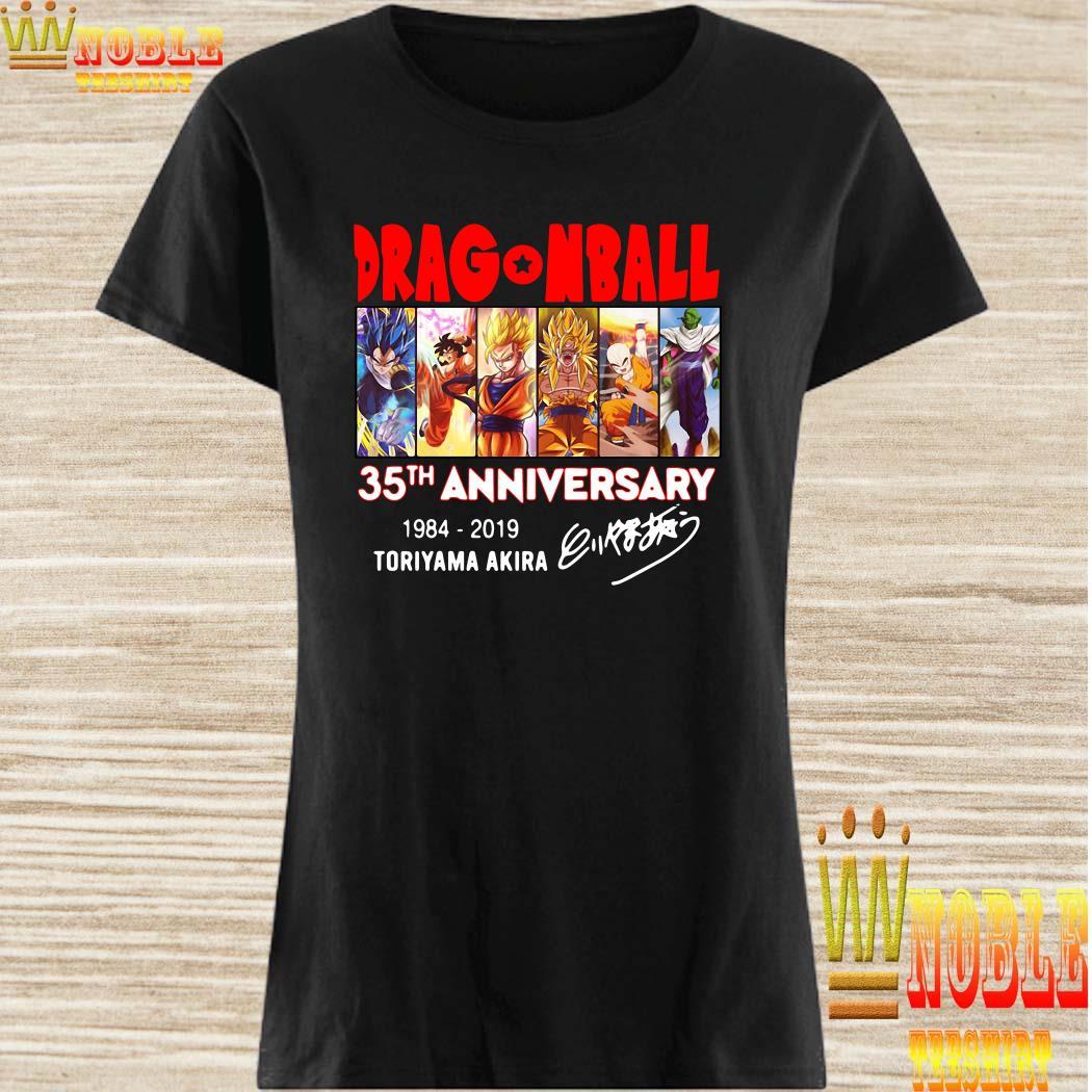 Dragon Ball 35th anniversary signature ladies shirt