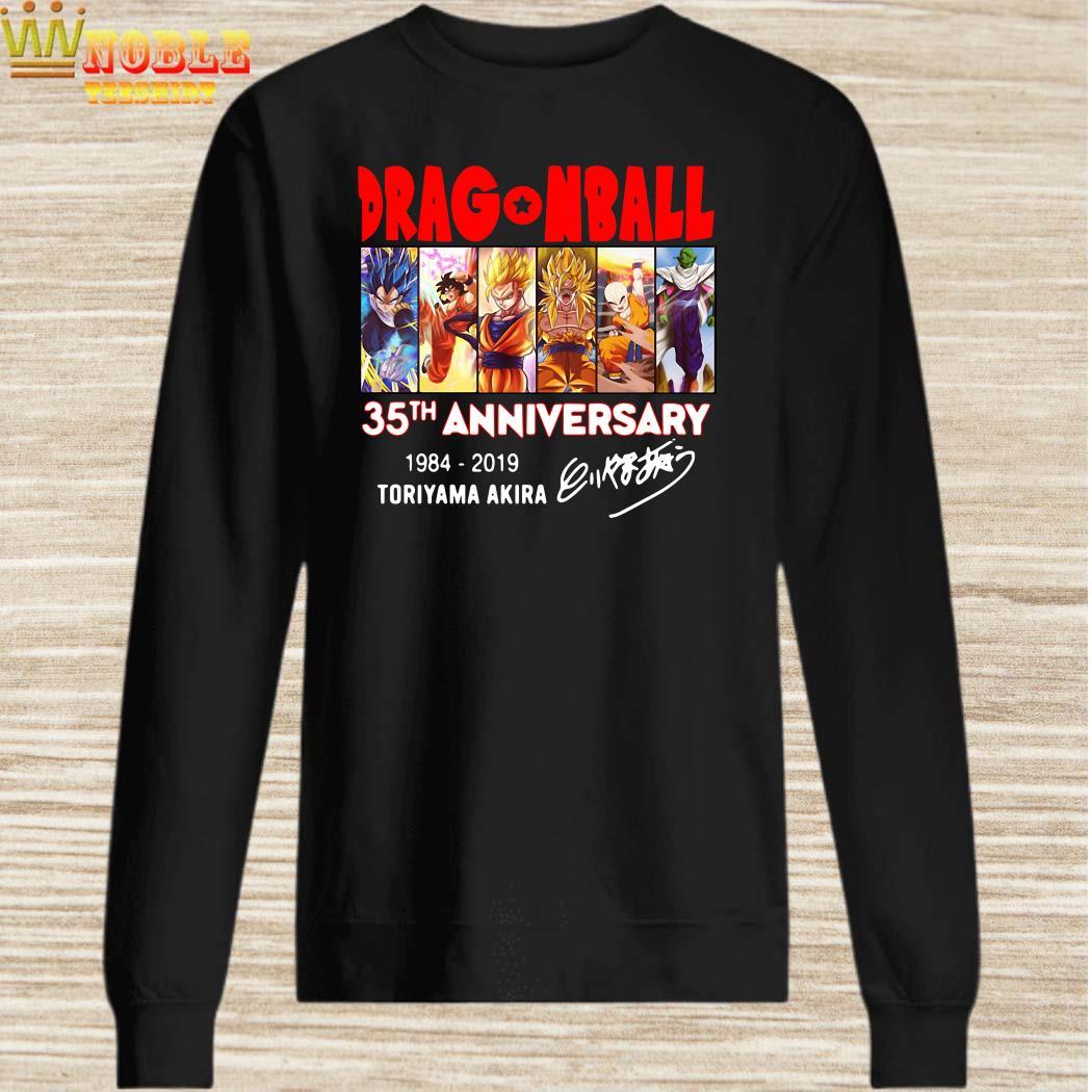 Dragon Ball 35th anniversary signature sweater