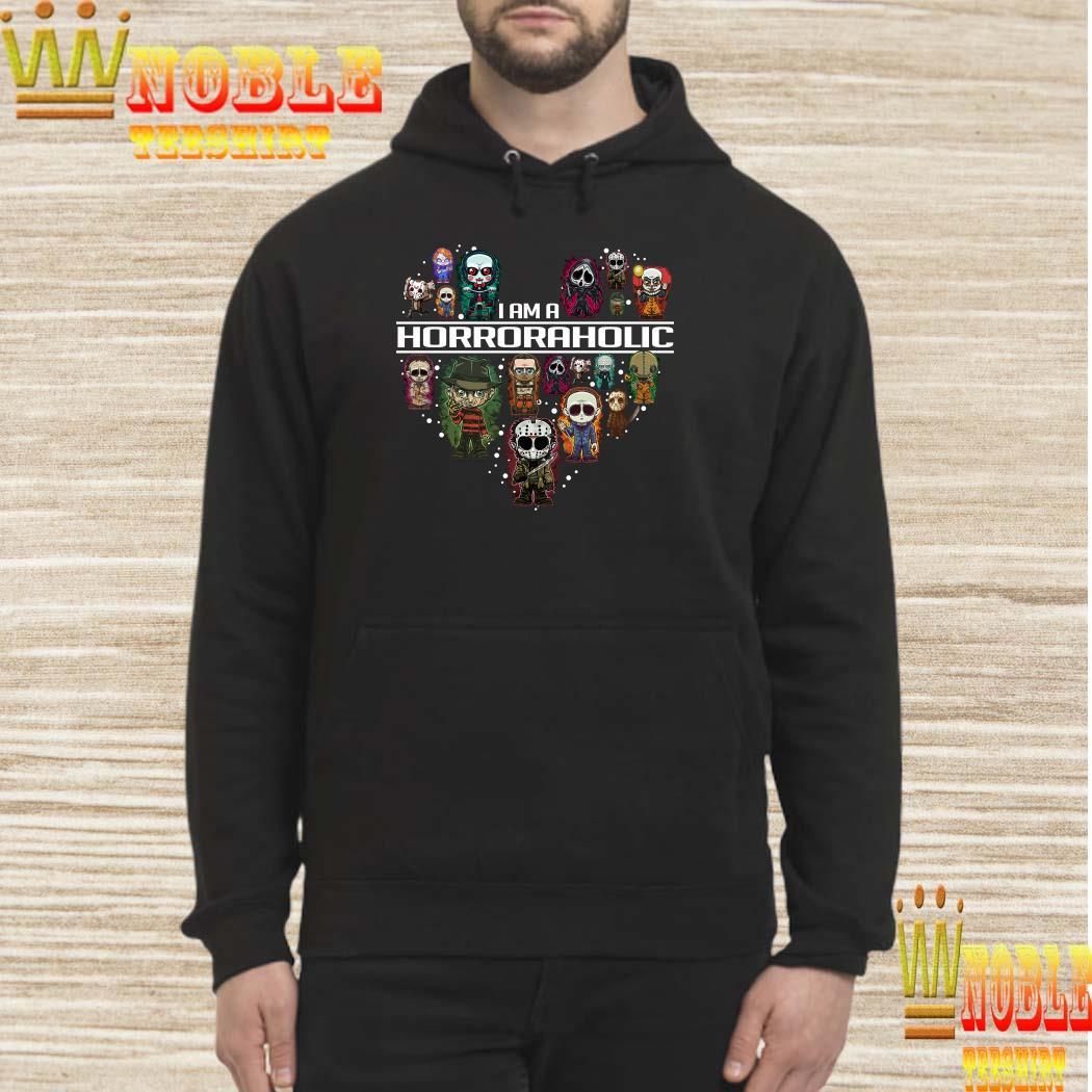 I am a Horror Aholic hoodie