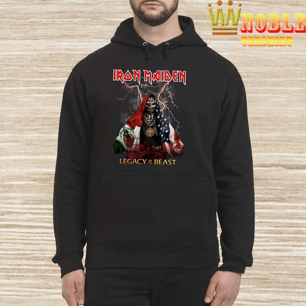 Iron Maiden Legacy Of The Beast Halloween hoodie