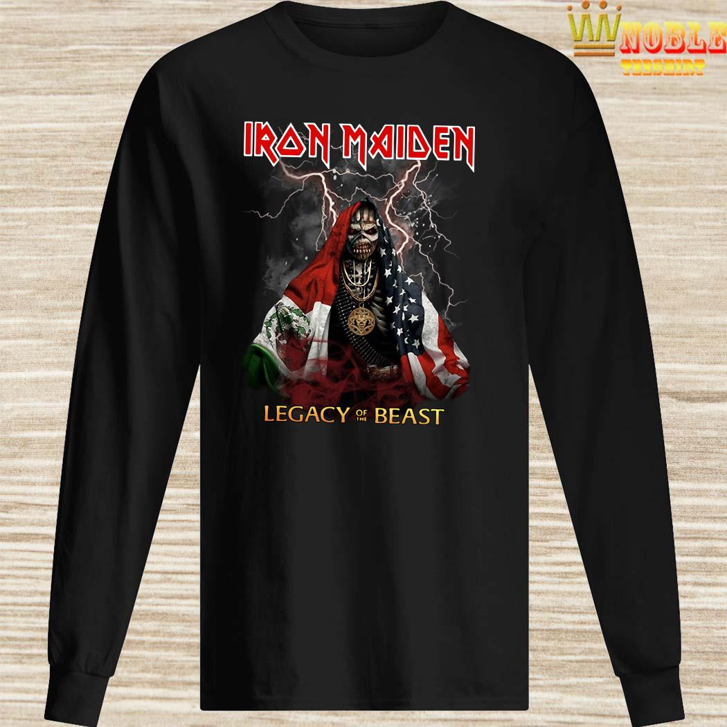 Iron Maiden Legacy Of The Beast Halloween long sleeved