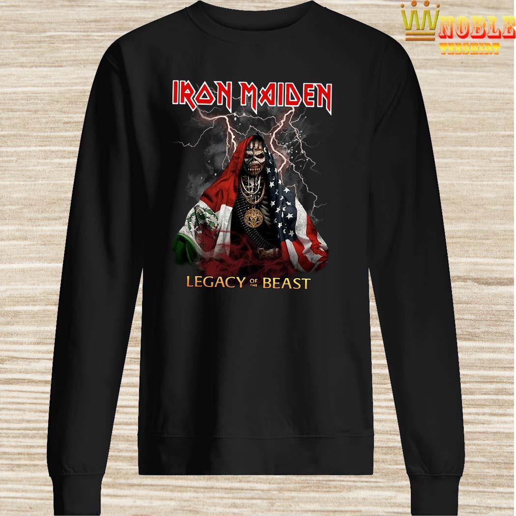 Iron Maiden Legacy Of The Beast Halloween sweater