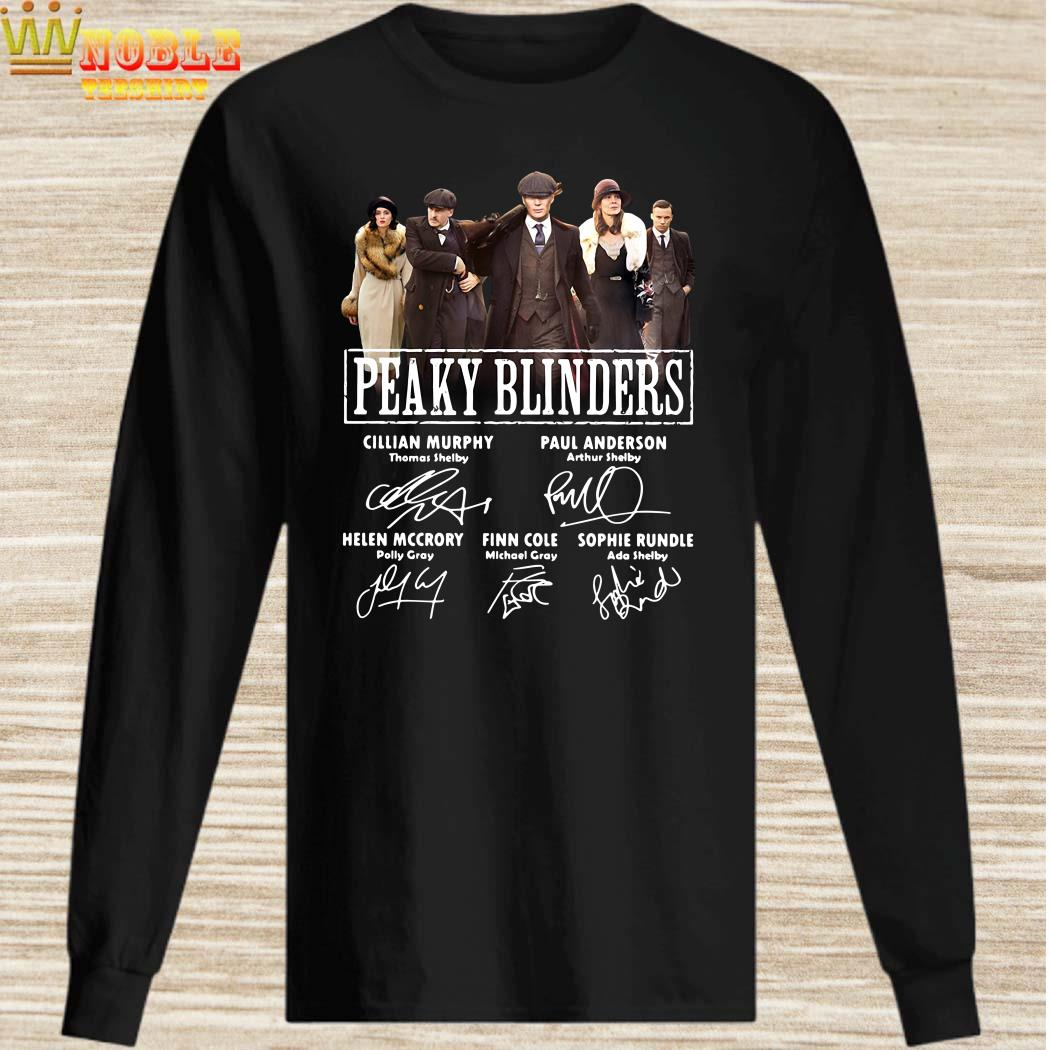 Peaky Blinders signatures long sleeved