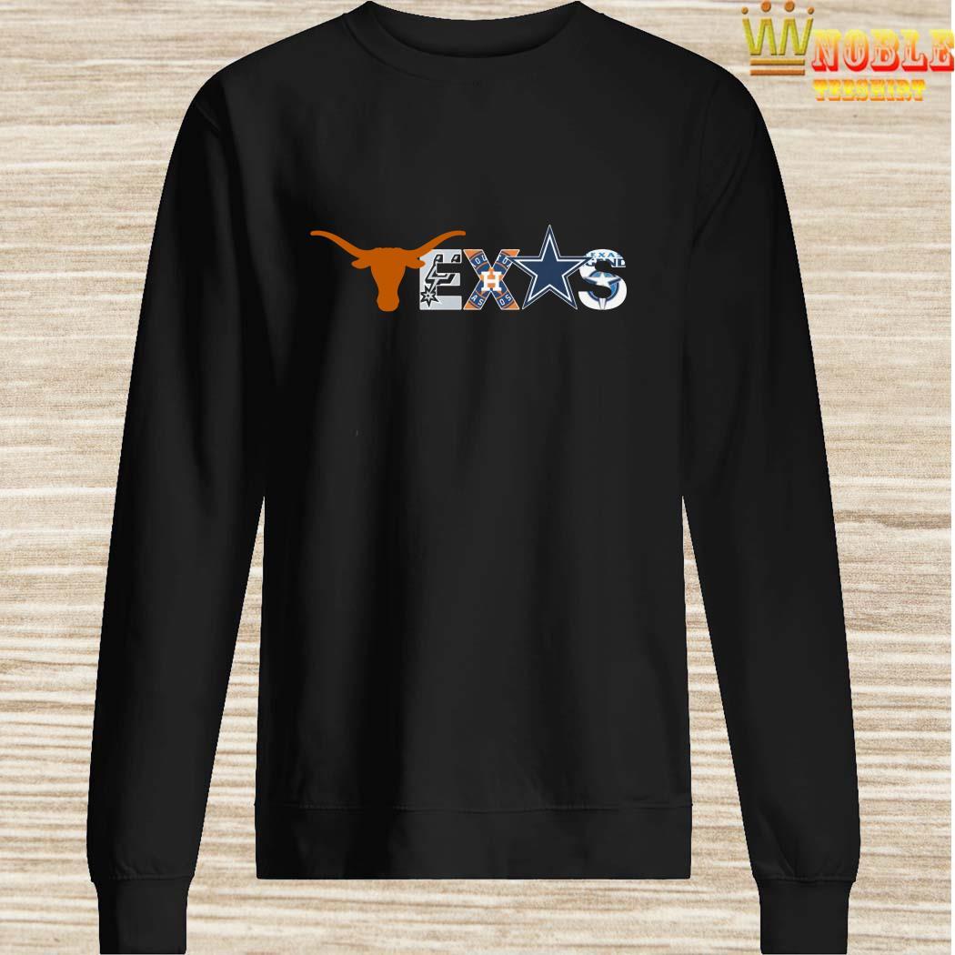 size 40 dcb58 67595 Texas Sport Teams Texas Longhorns Austin Spurs Houston Astros Dallas  Cowboys Shirt