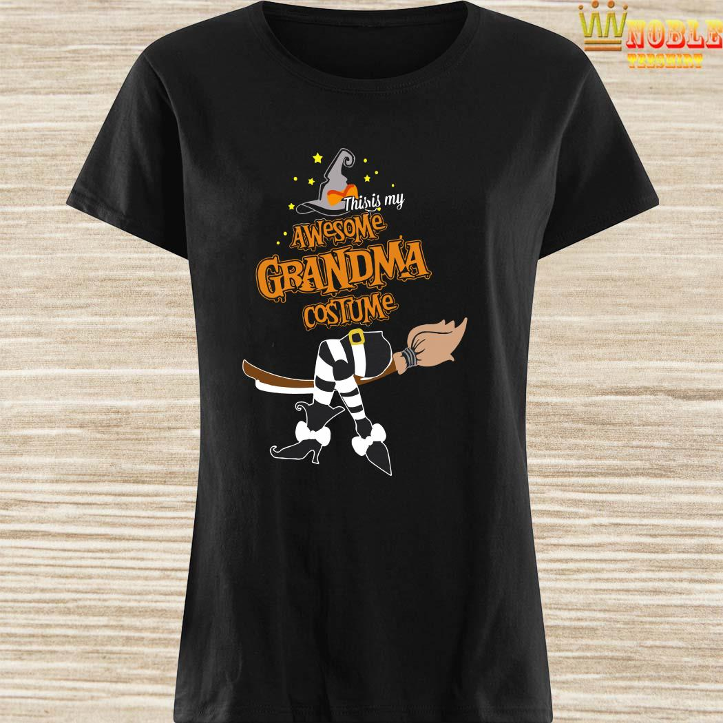 This Is My Awesome Grandma Costume Halloween Ladies Shirt