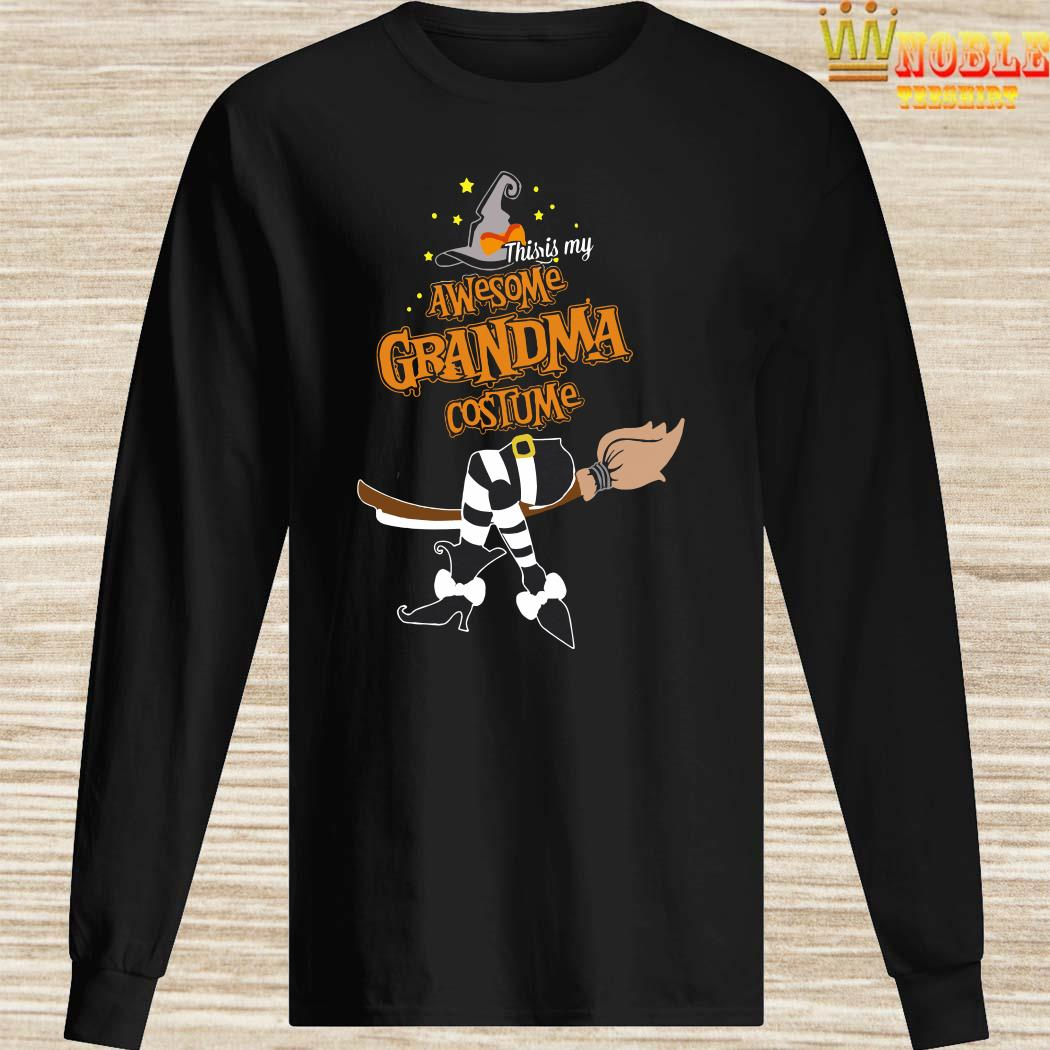 This Is My Awesome Grandma Costume Halloween Long Sleeved