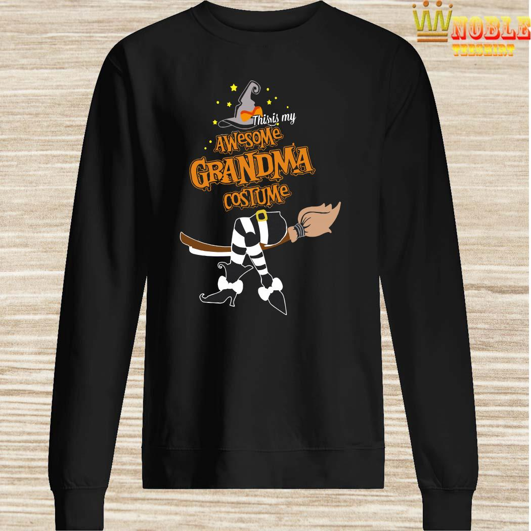 This Is My Awesome Grandma Costume Halloween Sweater