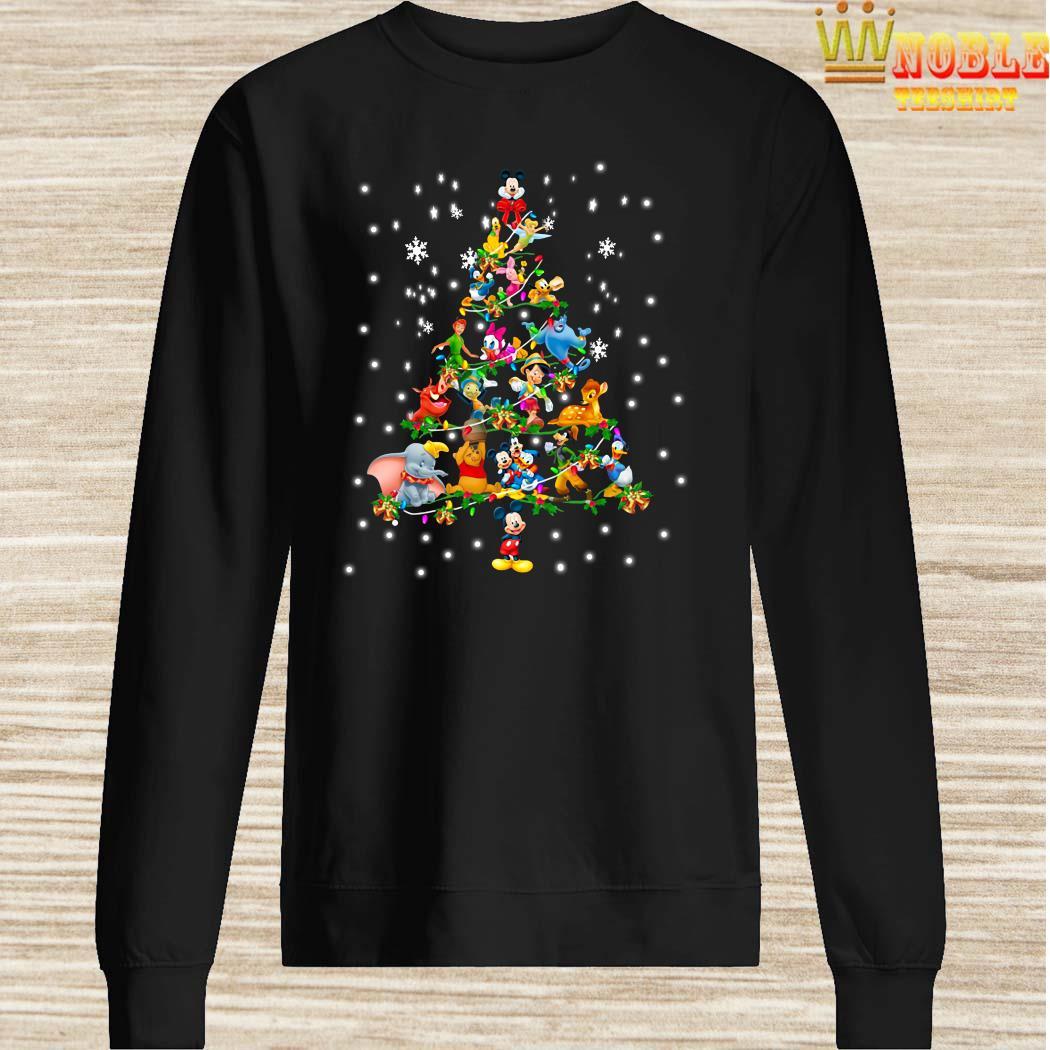 Disney Characters Christmas Tree Sweater