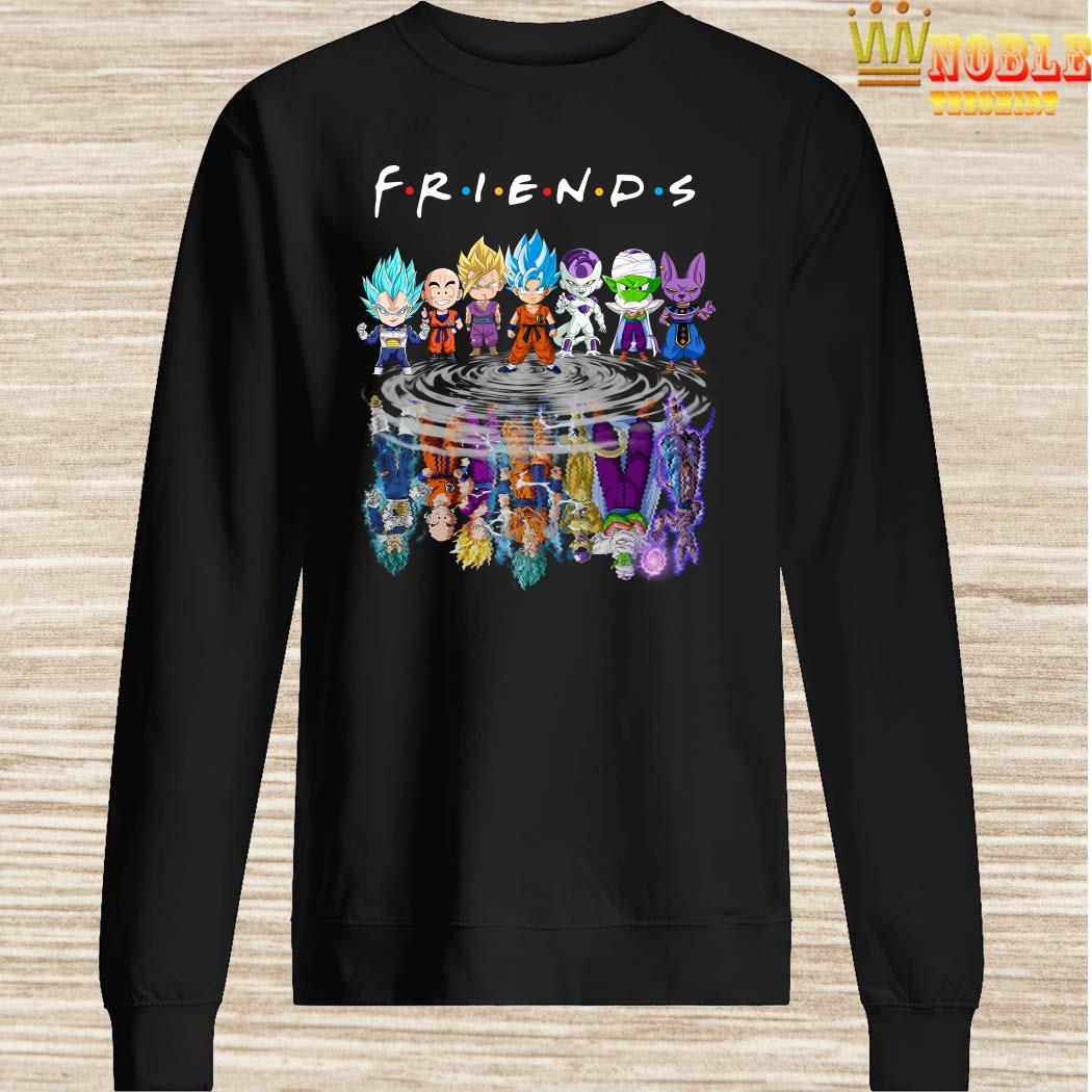 Dragon Ball Z Chibi Water Reflection Mirror Friends Sweater