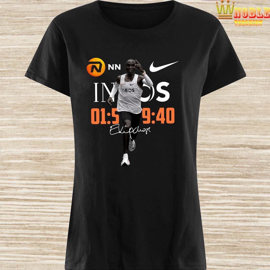 Eliud Kipchoge NN Nike 1 59 40 2 Ineos Ladies Shirt