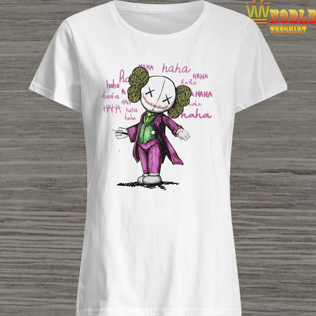 Kaws And Joker Haha Ladies Shirt