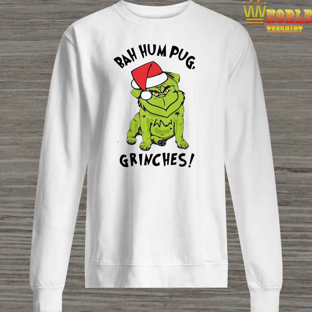 Bah Hum Pug Grinches Christmas Sweater