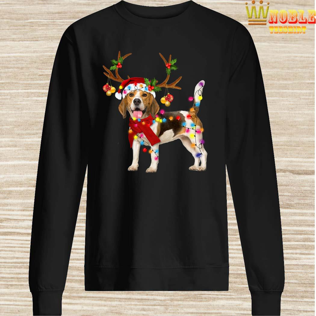 Beagle Gorgeous Reindeer Christmas Sweater