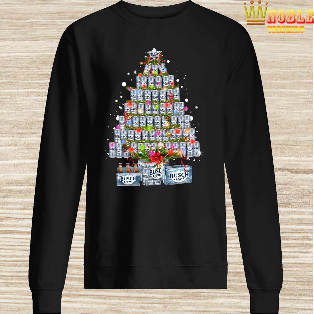 Busch Light Christmas Tree Shirt, Sweater, Long Sleeved