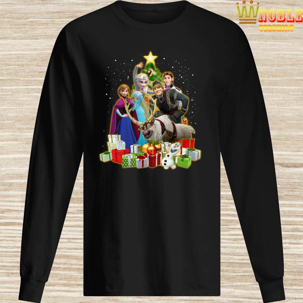Disney Frozen Characters Christmas Tree Long SLeeved