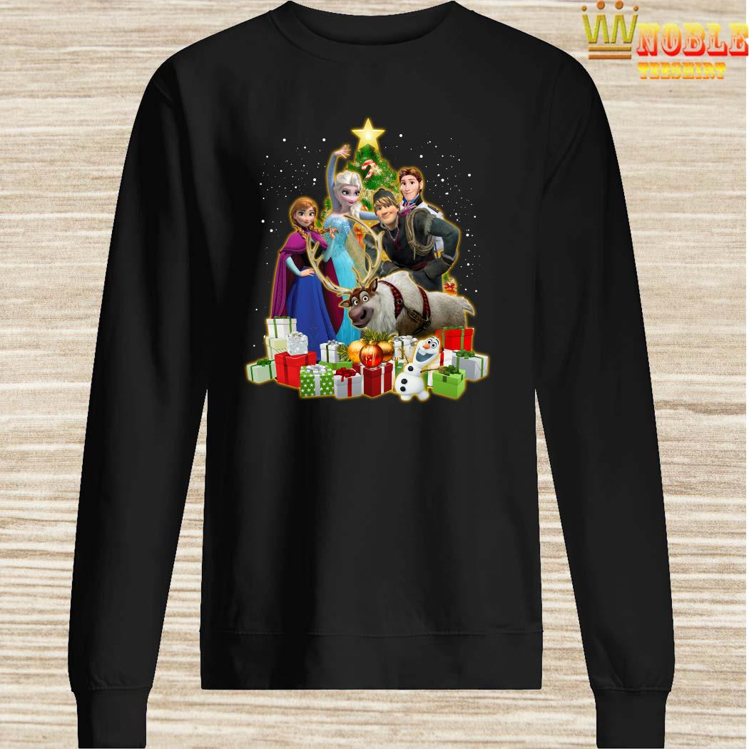 Disney Frozen Characters Christmas Tree Sweater