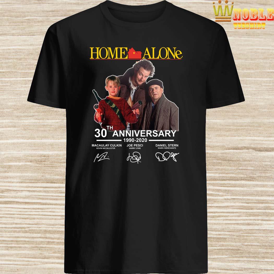 Home Alone 2020 Release Date.Home Alone 30th Anniversary 1990 2020 Signature Shirt