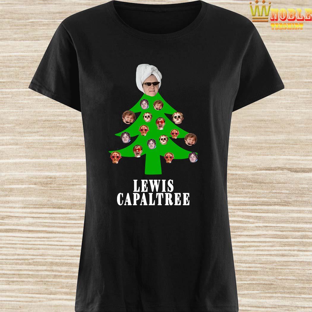 Lewis Capaltree Christmas Ladies Shirt