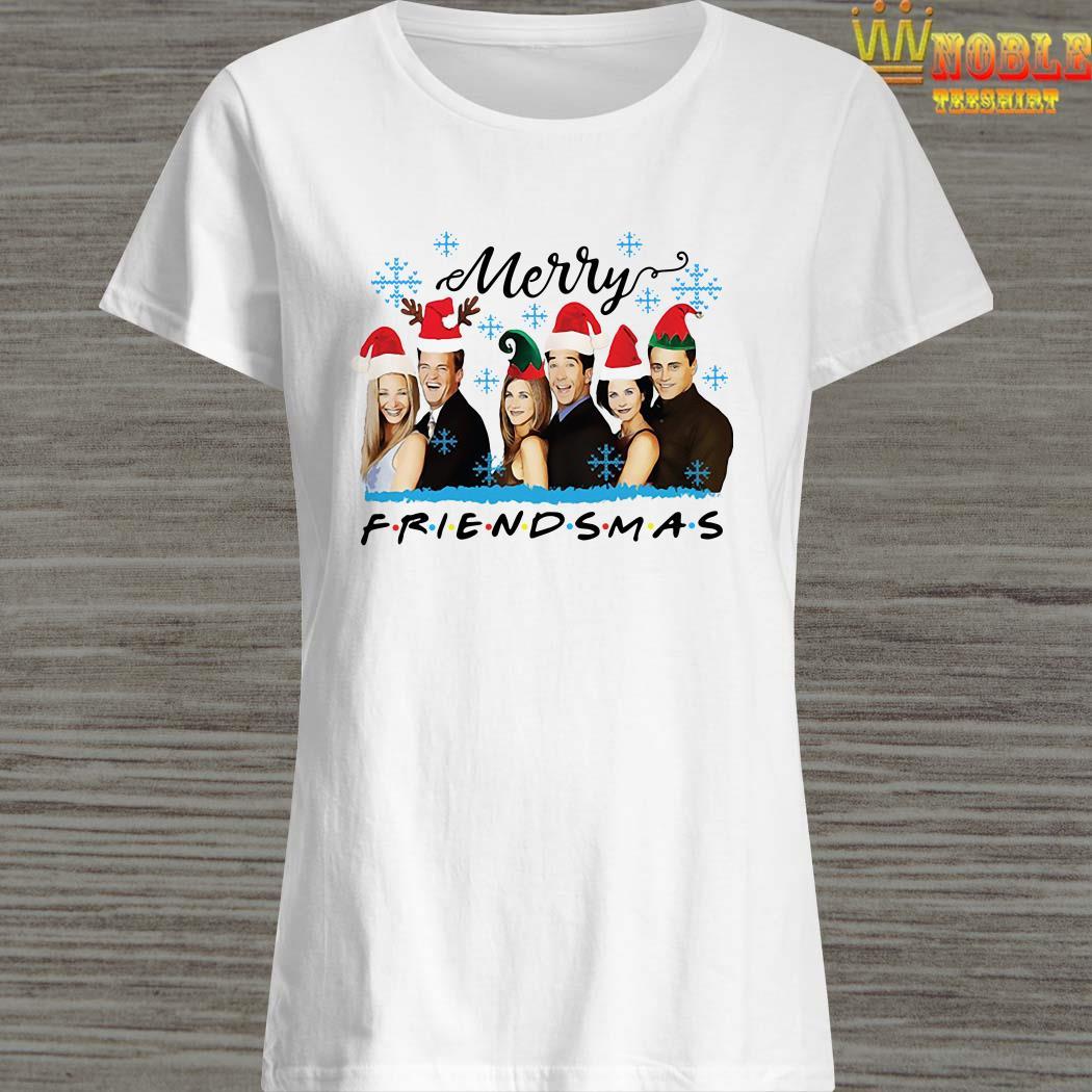 Merry Friendsmas Christmas Ladies Shirt