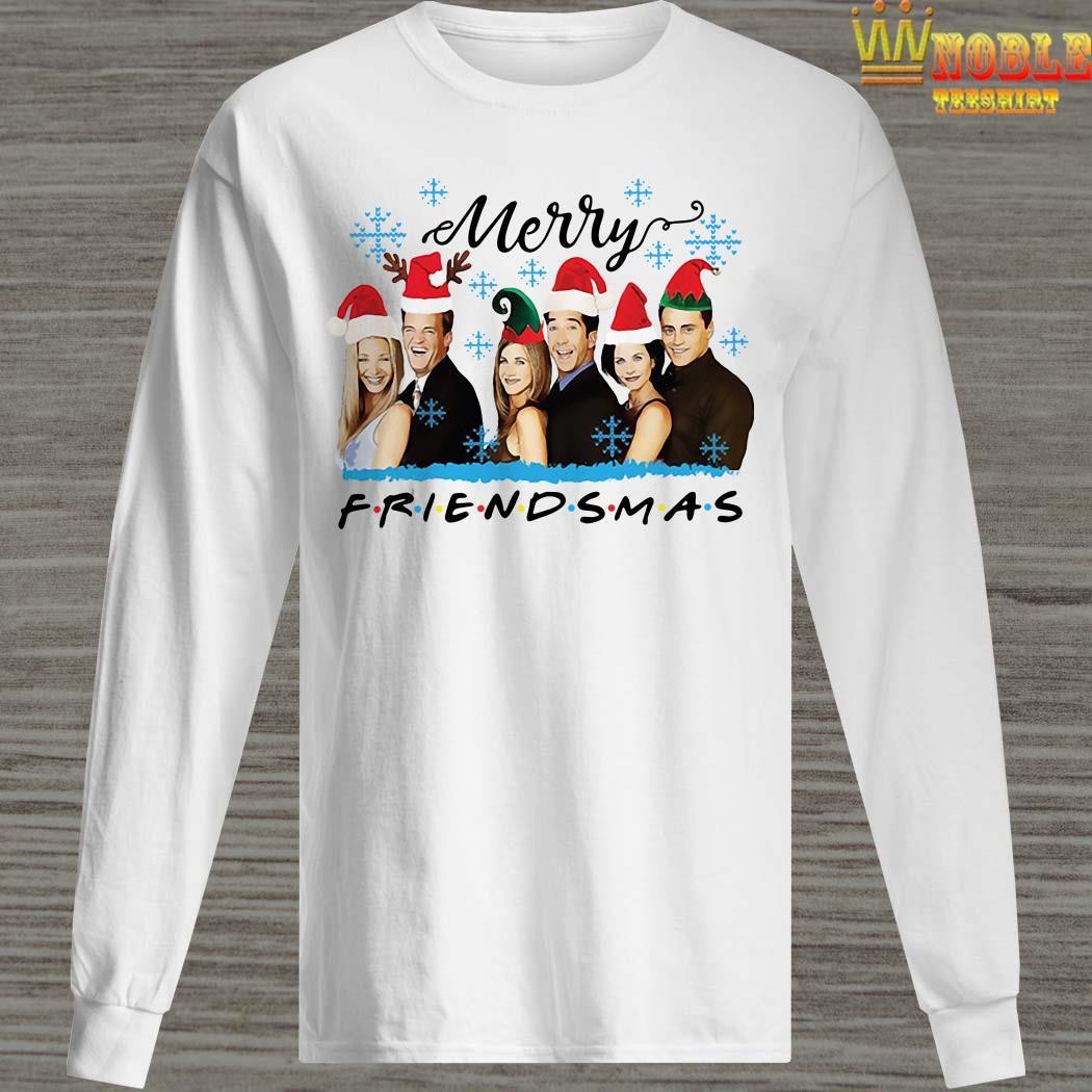 Merry Friendsmas Christmas Long Sleeved