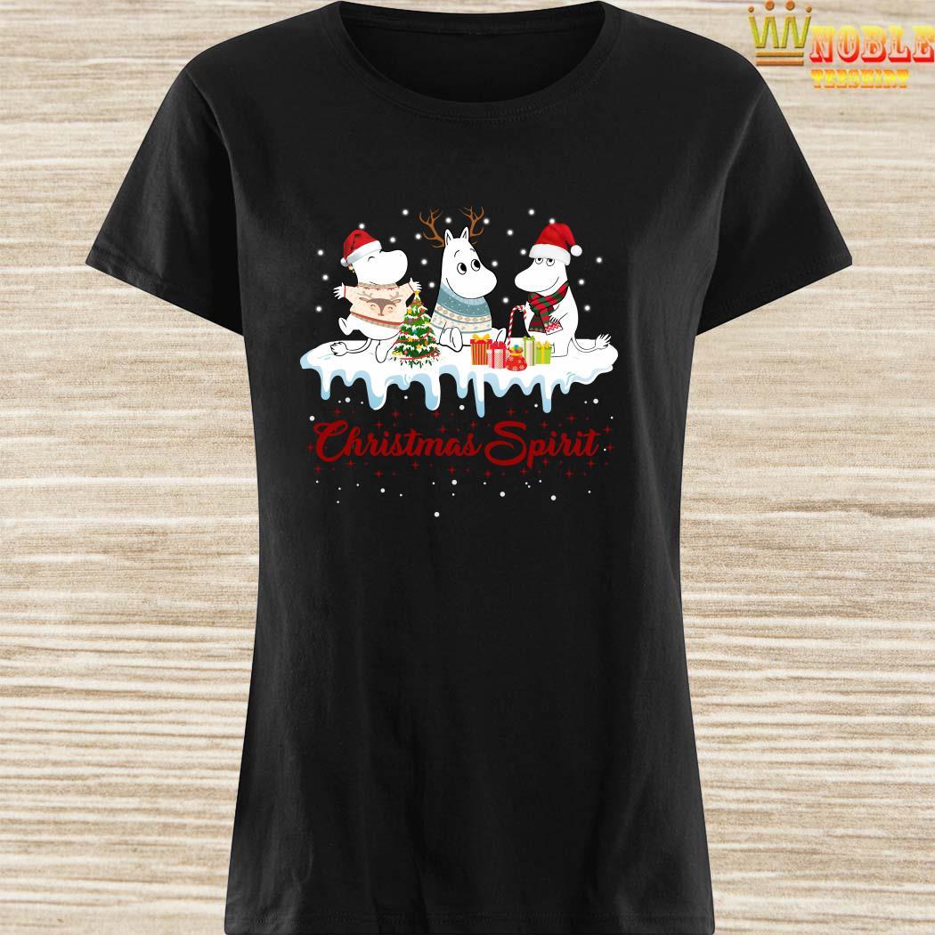 Moomins Christmas Spirit Ladies Shirt