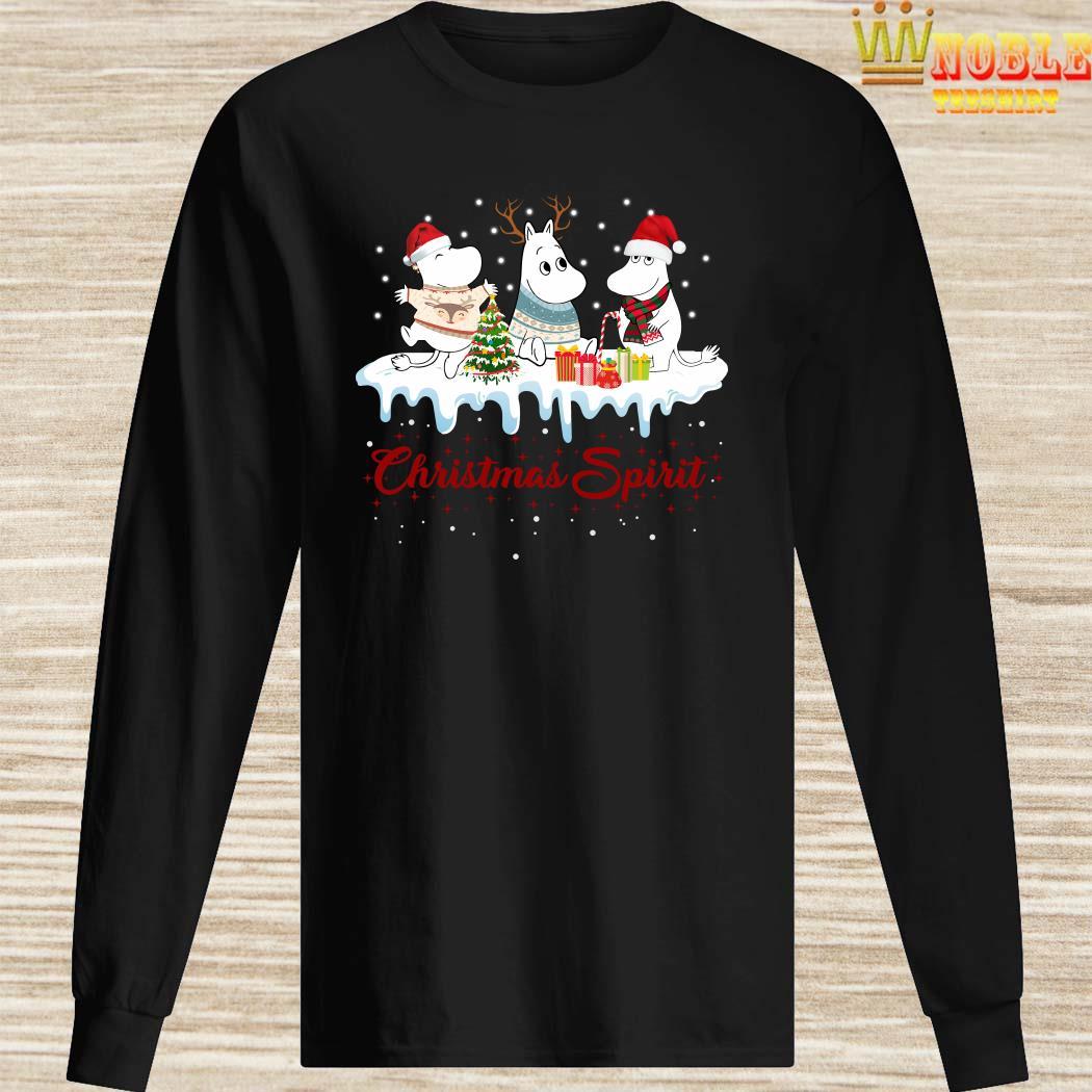 Moomins Christmas Spirit Long Sleeved