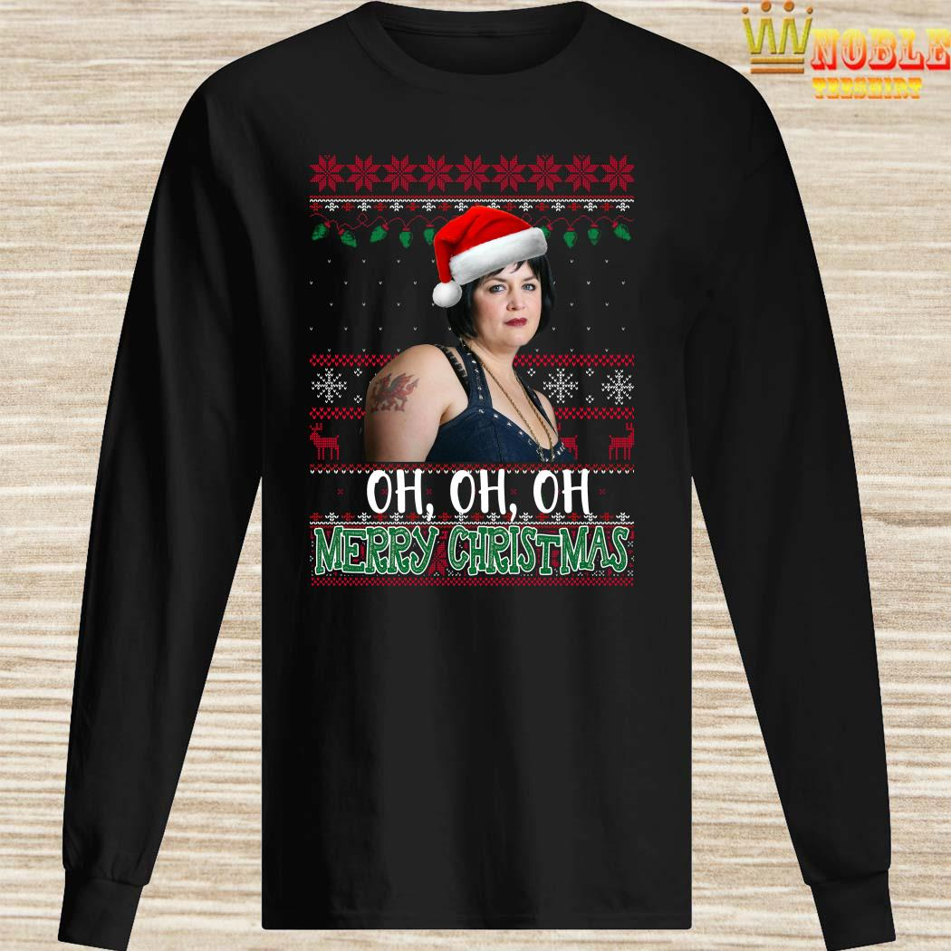 Nessa Jenkins Oh Oh Oh Merry Christmas Ugly Long Sleeved