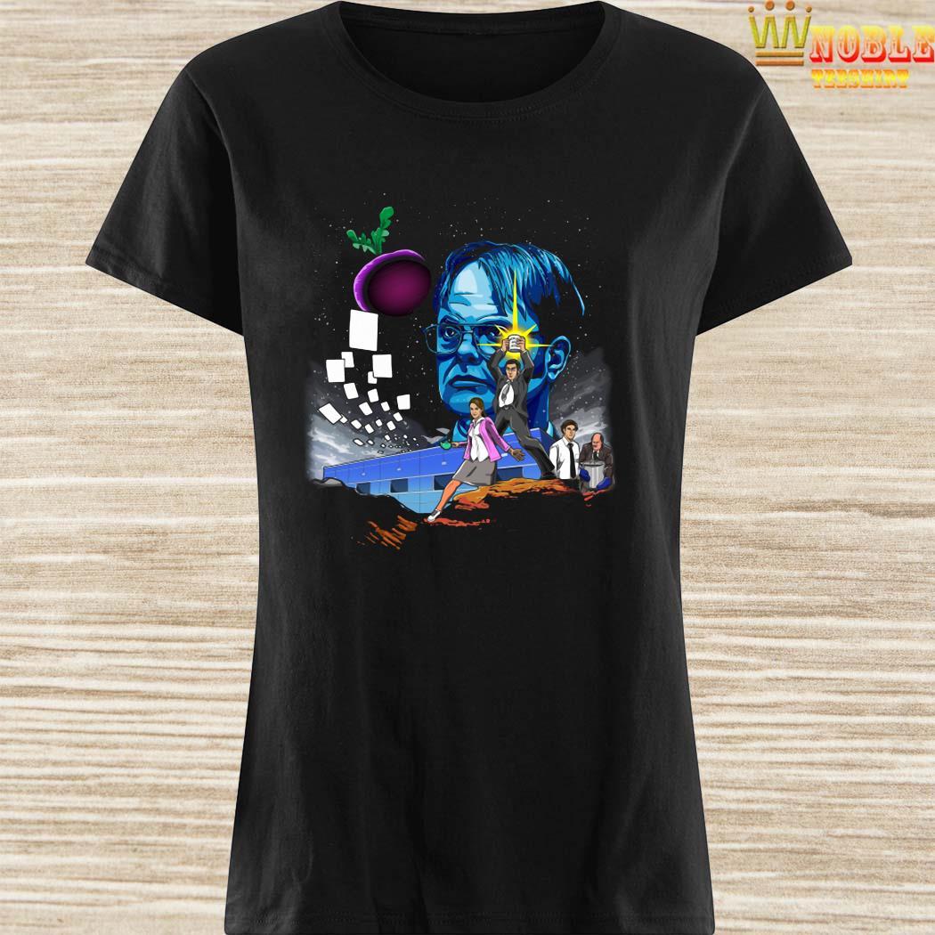 Paper Wars Dunder Mifflin Ladies Shirt