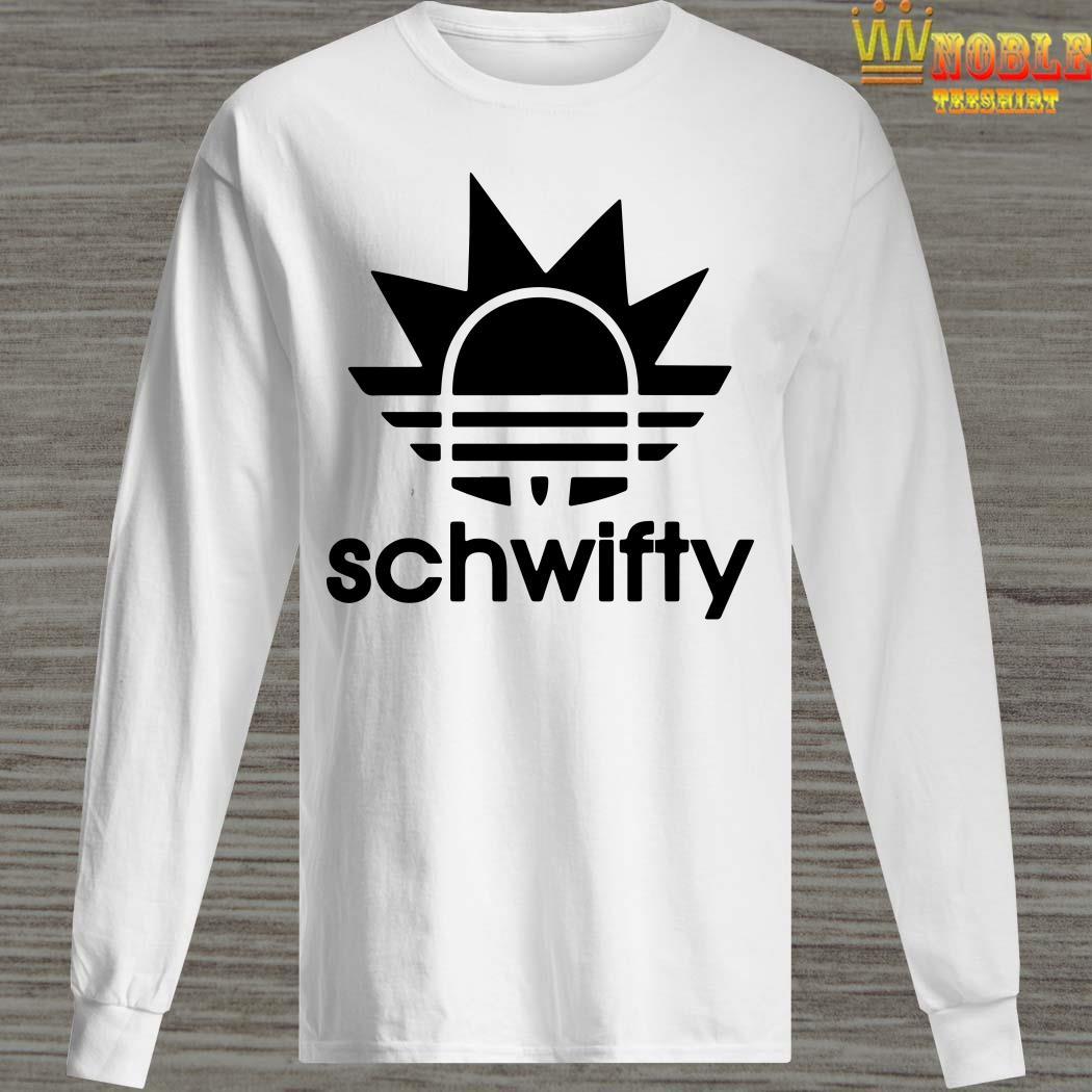 Schwifty Adidas Rick Sanchez Long Sleeved