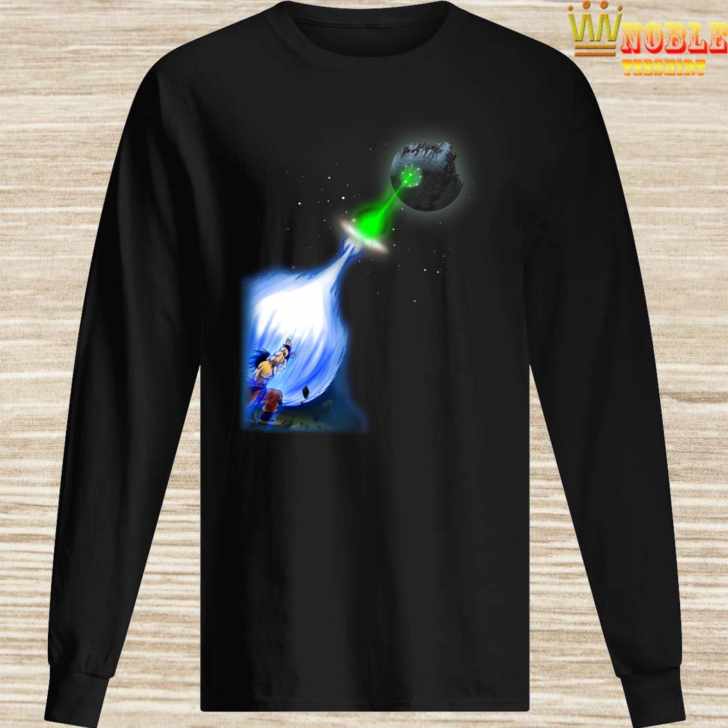 Son Goku Kamehameha Death Star Long Sleeved