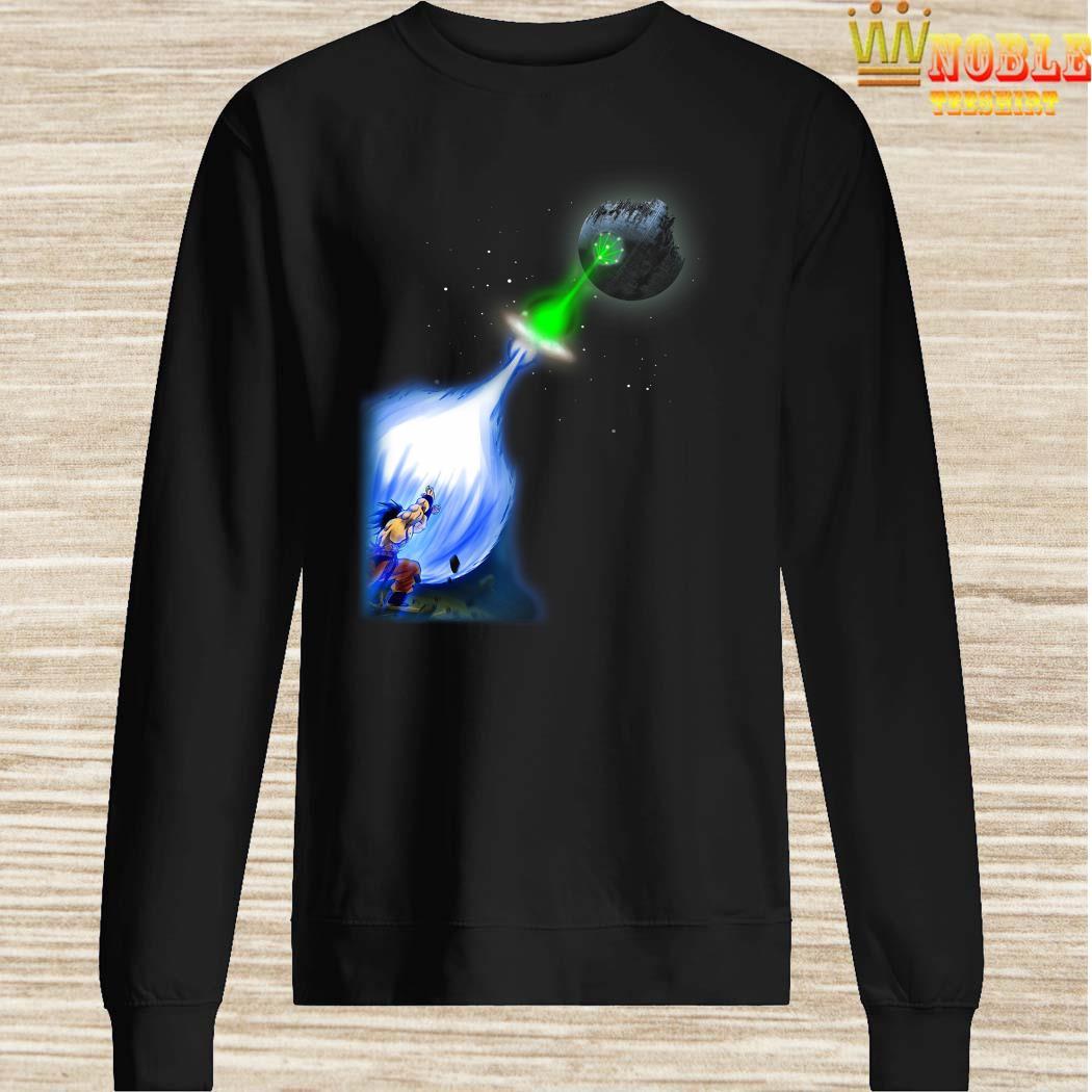 Son Goku Kamehameha Death Star Sweater