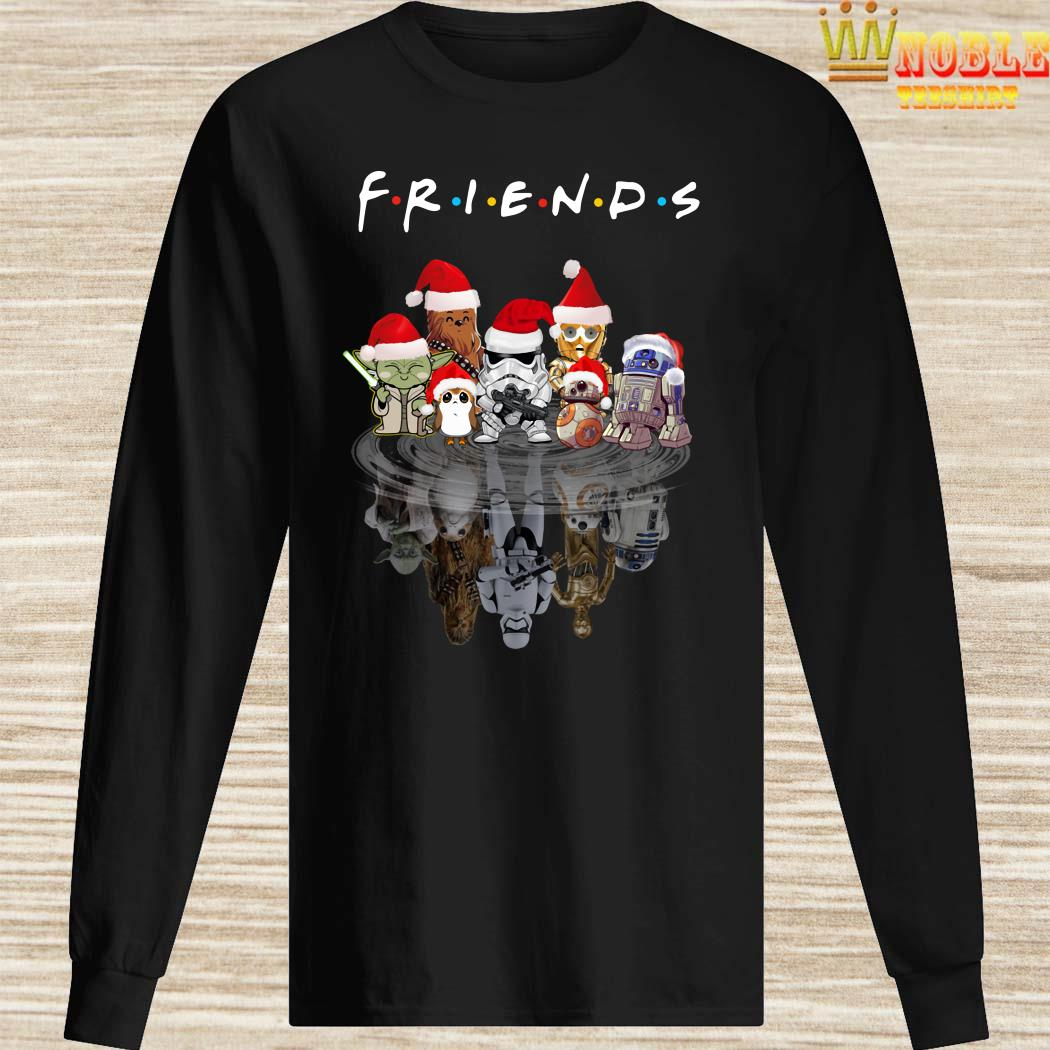 Star Wars Chibi Characters Water Reflection Mirror Friends Christmas Long Sleeved
