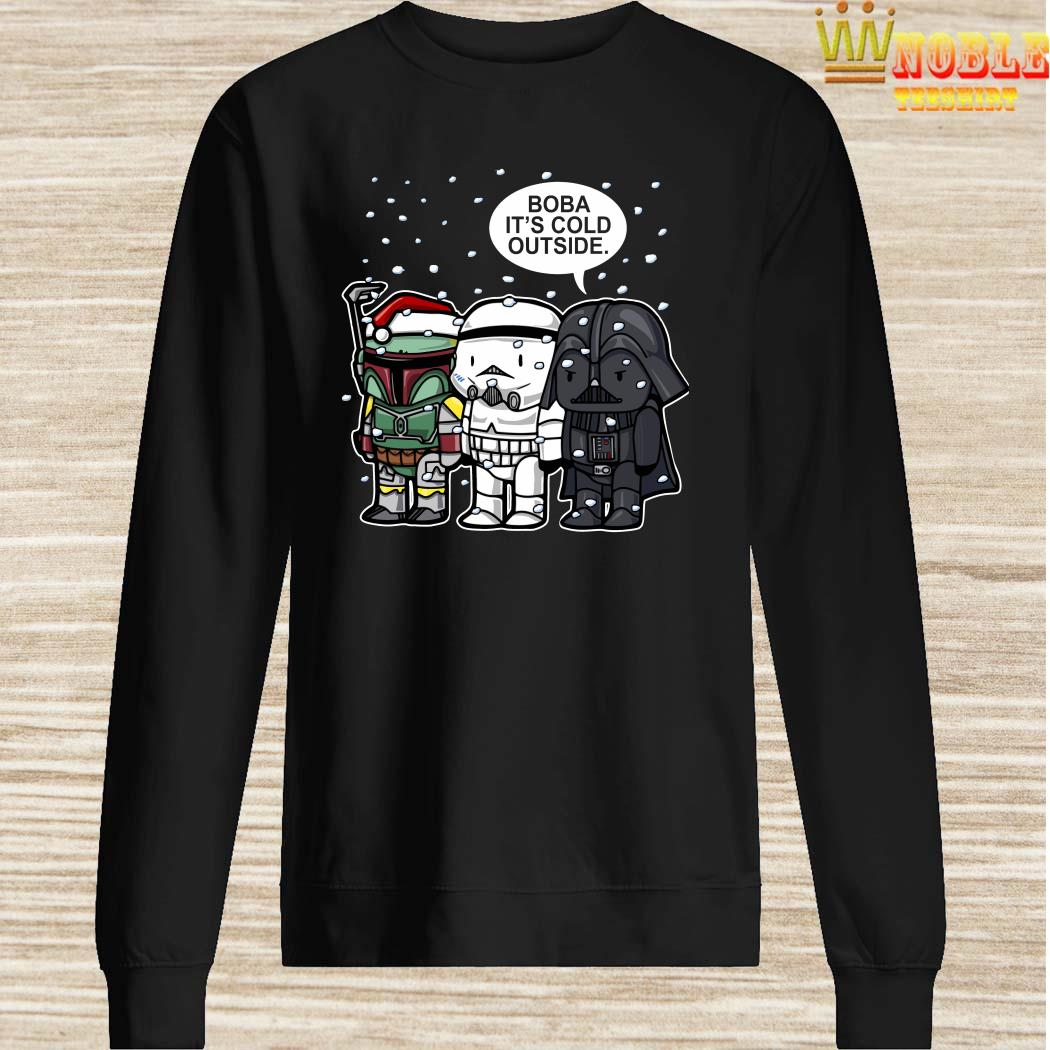 Star Wars Christmas Boba It's Cold Outside Sweater