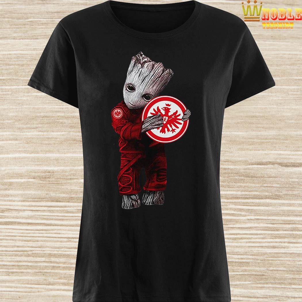Baby Groot Hug Eintracht Frankfurt ladies Shirt