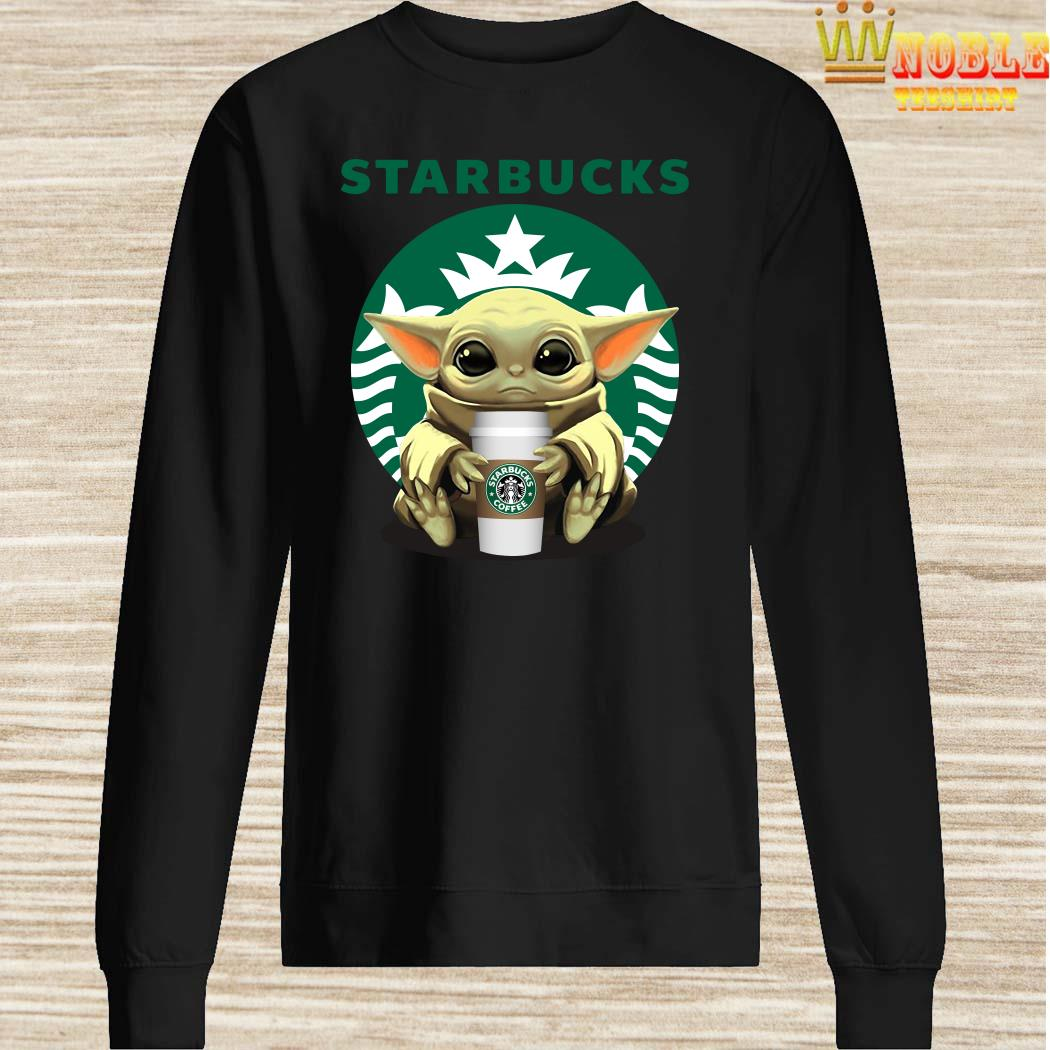 Baby Yoda Hug Starbucks Sweater