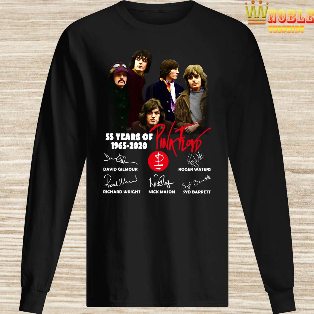 55 Years Of 1965 2020 Pink Floyd Signature Long Sleeved