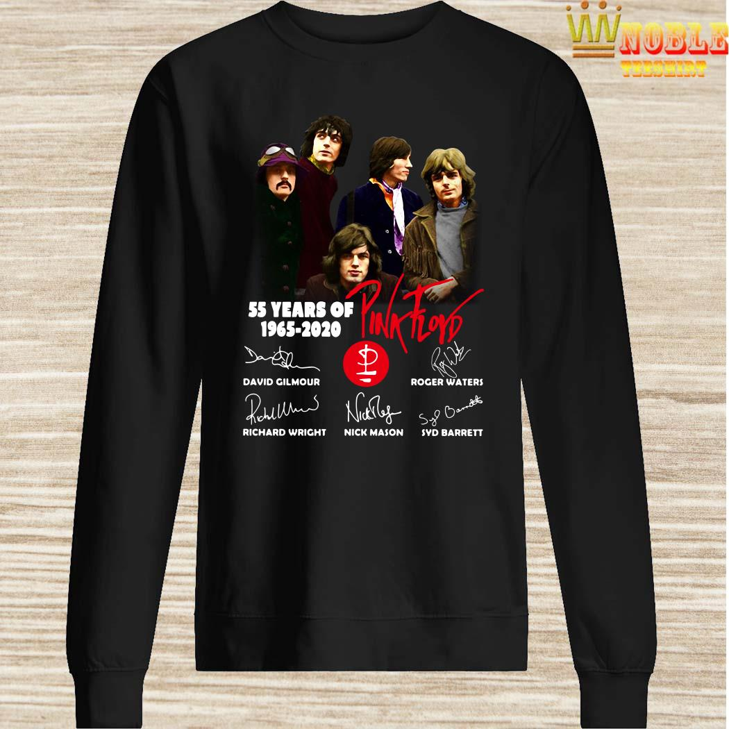 55 Years Of 1965 2020 Pink Floyd Signature Sweater