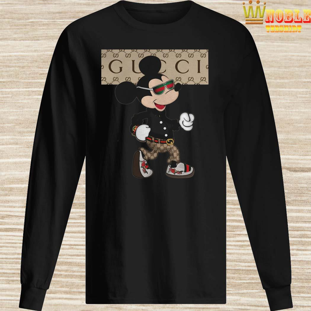 Mickey Mouse Gucci Long Sleeved