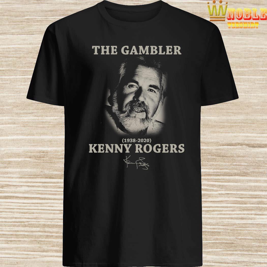 The Gambler 1938 2020 Kenny Rogers Signature Shirt, Hoodie ...