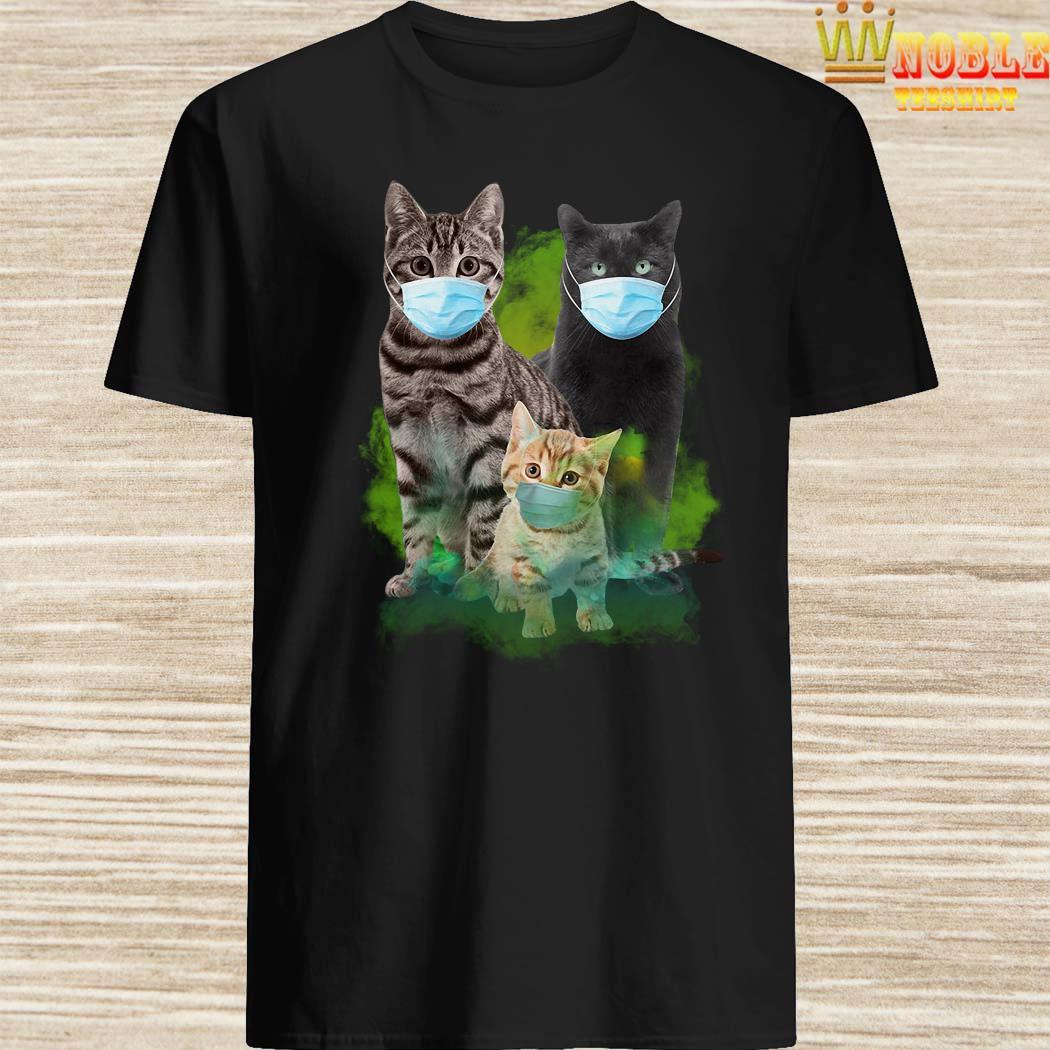 Cats Face Mask Coronavirus Shirt, Hoodie, Tank Top
