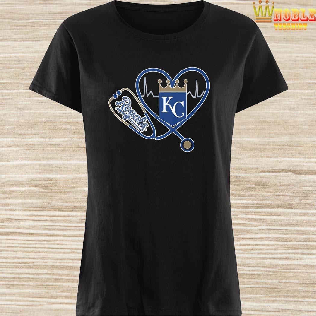 Heartbeat Nurse Love Kansas City Royals Shirt, Hoodie