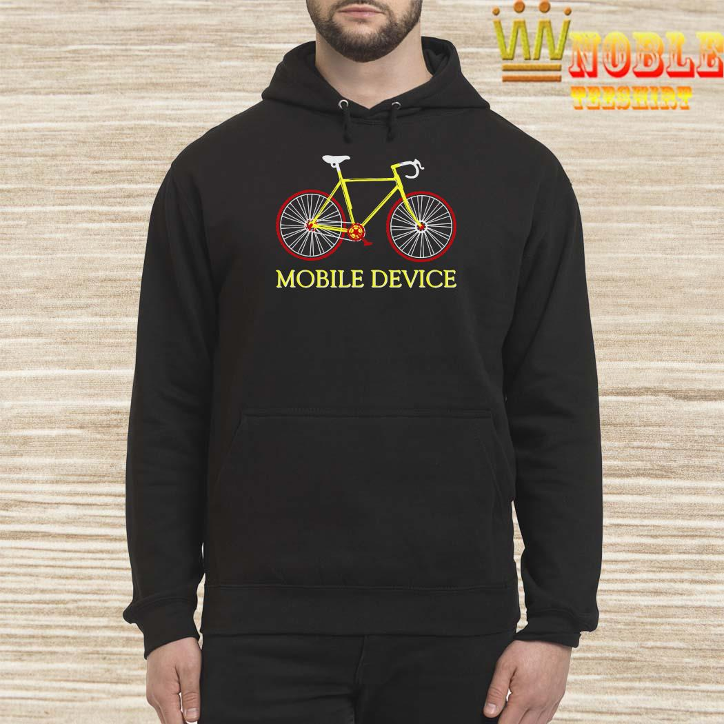 Bicycle Mobile Device Shirt Hoodie