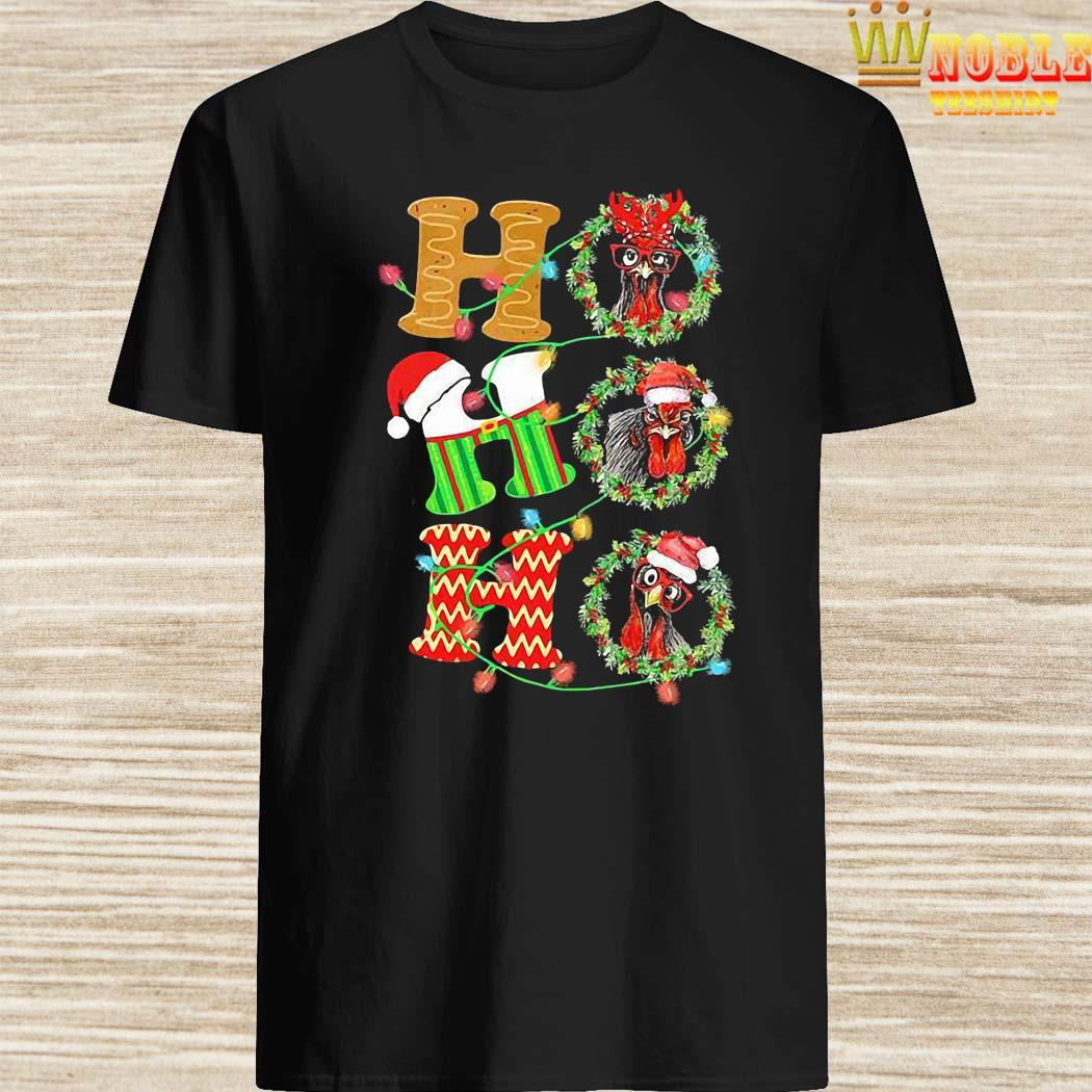Chicken Hohoho Christmas Shirt