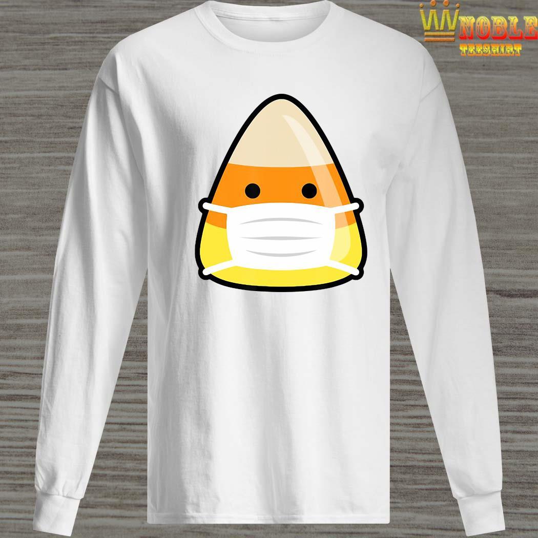 Face Mask Candy Corn Emoji Emoticorn Costume Alternative Shirt Long Sleeved
