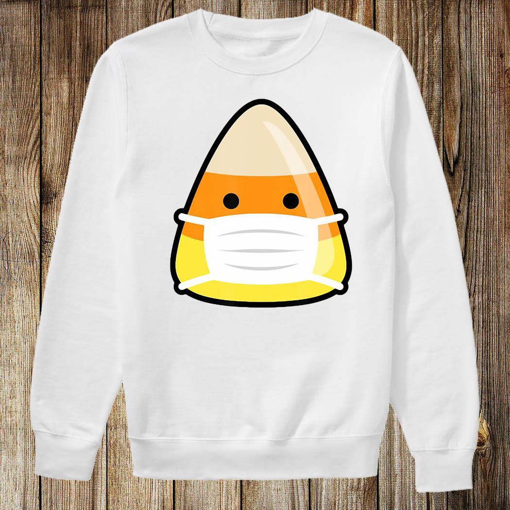 Face Mask Candy Corn Emoji Emoticorn Costume Alternative Shirt Sweatshirt
