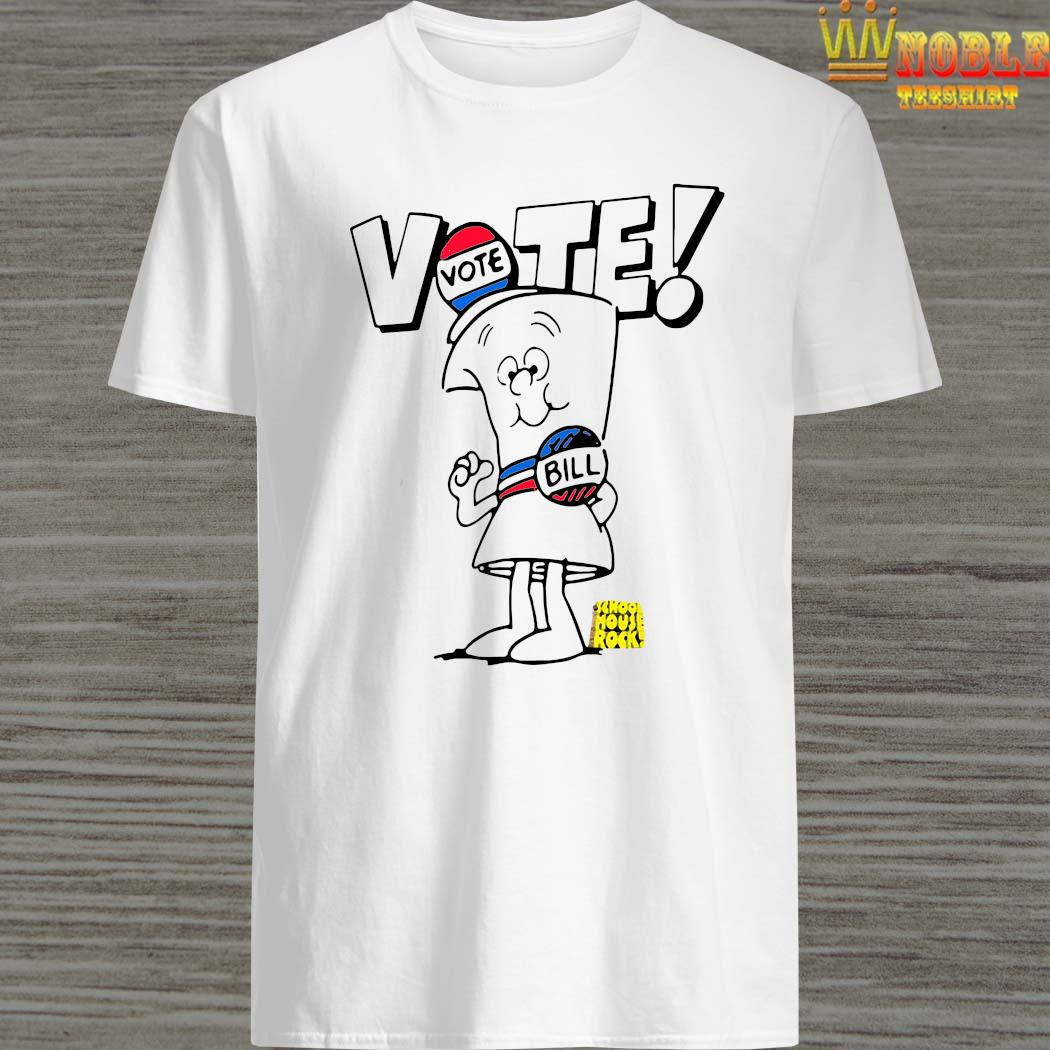 Womens Schoolhouse Rock Vote With Bill Shirt
